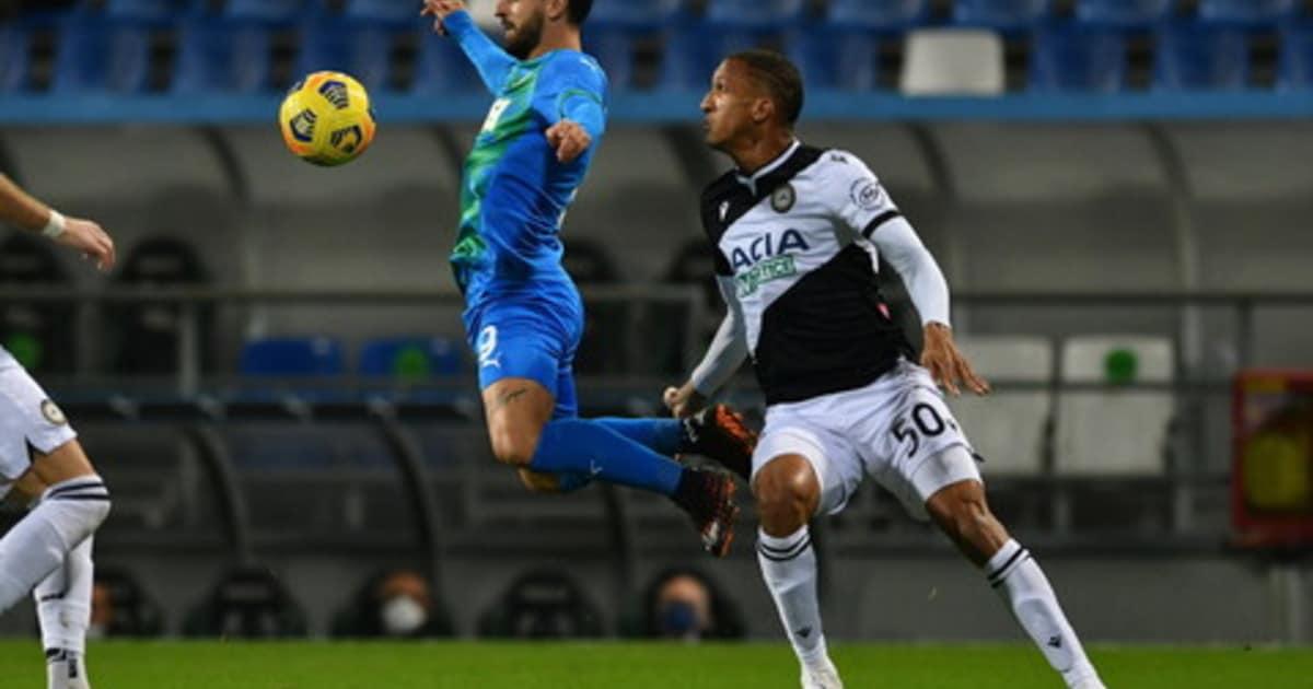 Serie A niente sorpasso al Milan Sassuolo Udinese 0 0