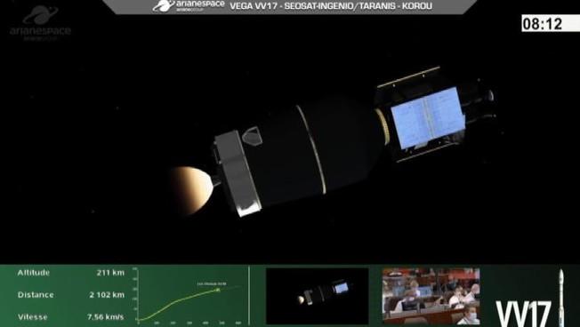 Spazio fallito il lancio del razzo Vega con 2 satelliti a bordo