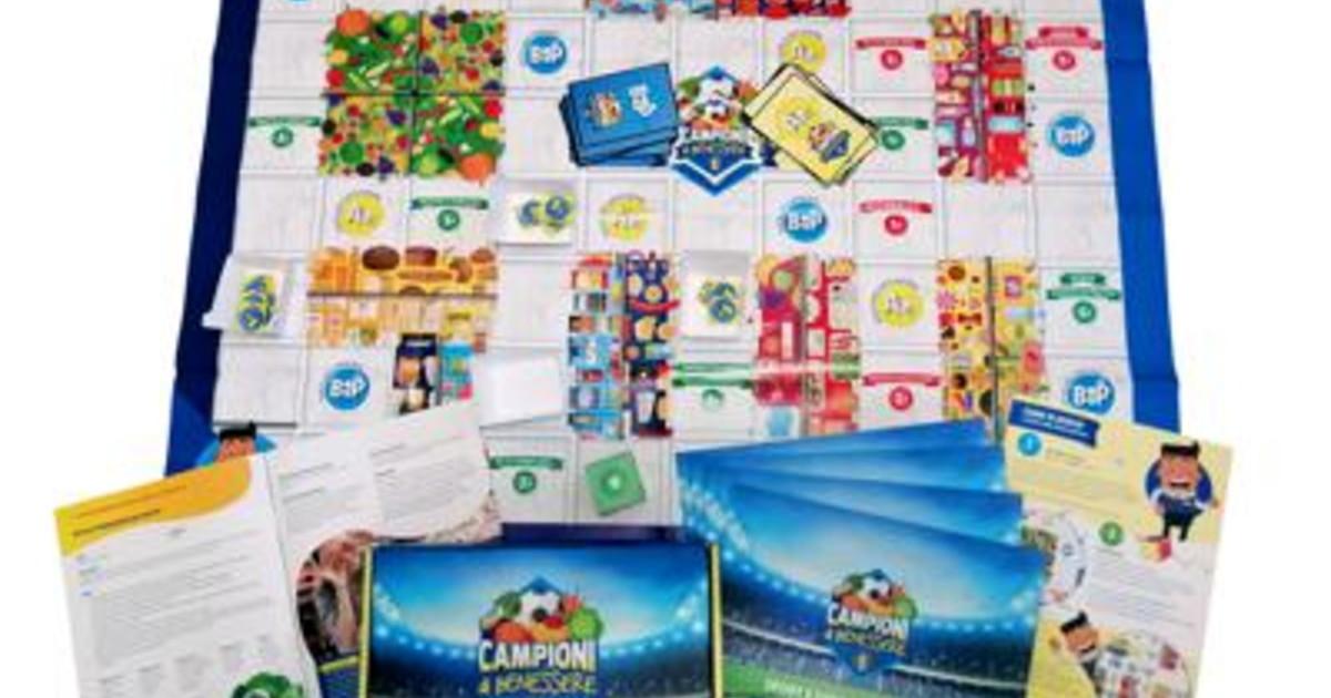 Sport e dieta sana Lidl Italia porta nelle scuole Campioni di Benessere