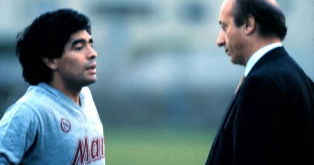 Storia del calcio e riscatto sociale a Napoli Luciano Moggi chi era davvero Maradona