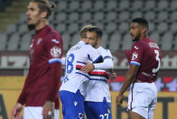 Torino e Sampdoria si dividono la posta allOlimpico finisce 2 2