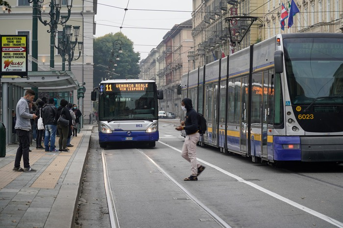 Trasporti Audimob con lockdown spostamenti giu del 67