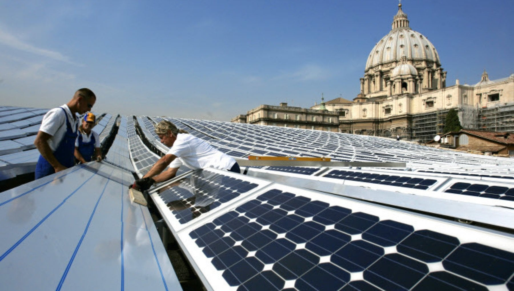 Vaticano lo Stato piu verde del mondo