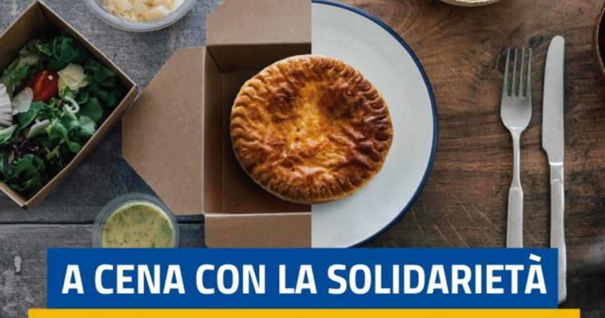 A Cena con la Solidarieta per mille famiglie in difficolta