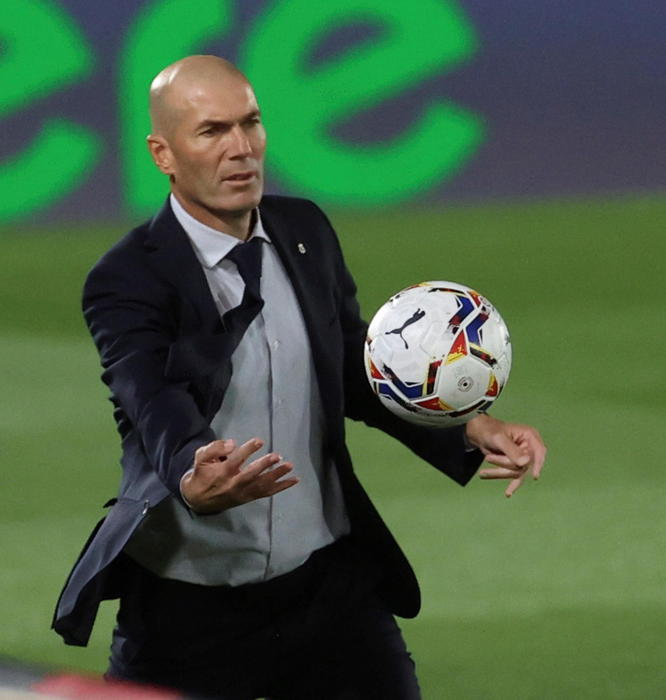 ANSA BOX Zidane Real in Europa League penso a vincere