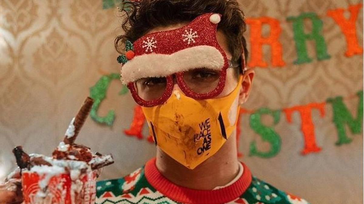 Abbuffata natalizia per Norris Ora dovro correre come Forrest Gump
