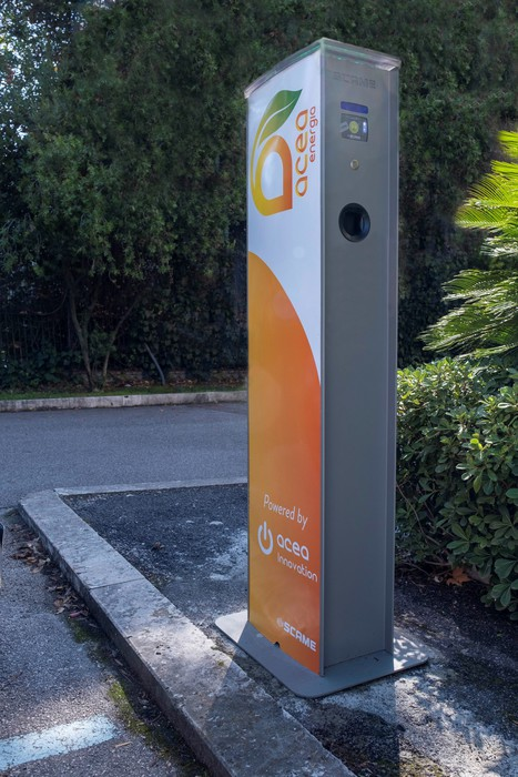 Acea al via piano su e mobility prime 100 colonnine a Roma