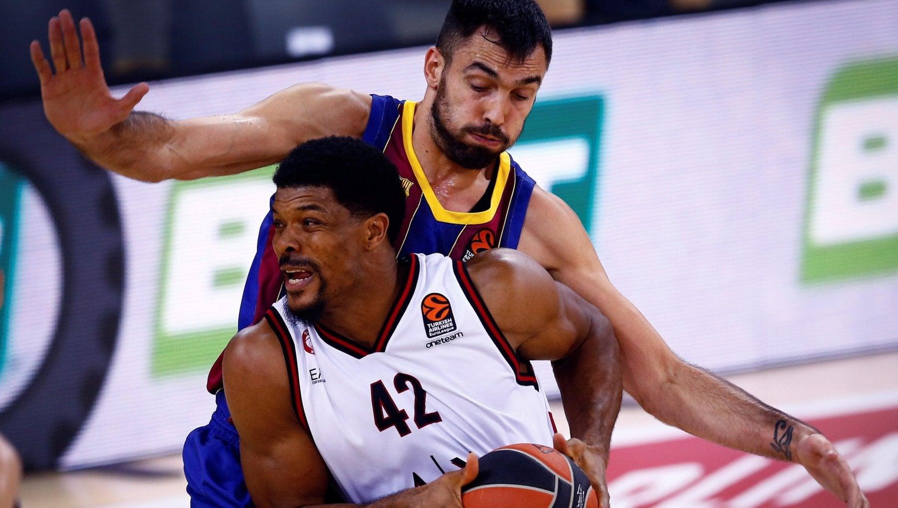 Basket Eurolega Barcellona Milano 87 71 lOlimpia crolla nel finale