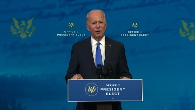 Biden e il presidente degli Usa Ora voltiamo pagina