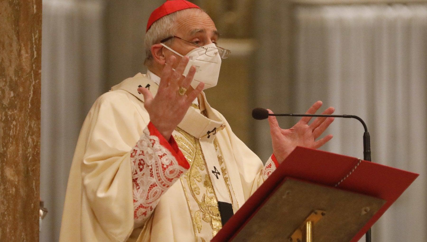 Bologna il vescovo Zuppi e positivo
