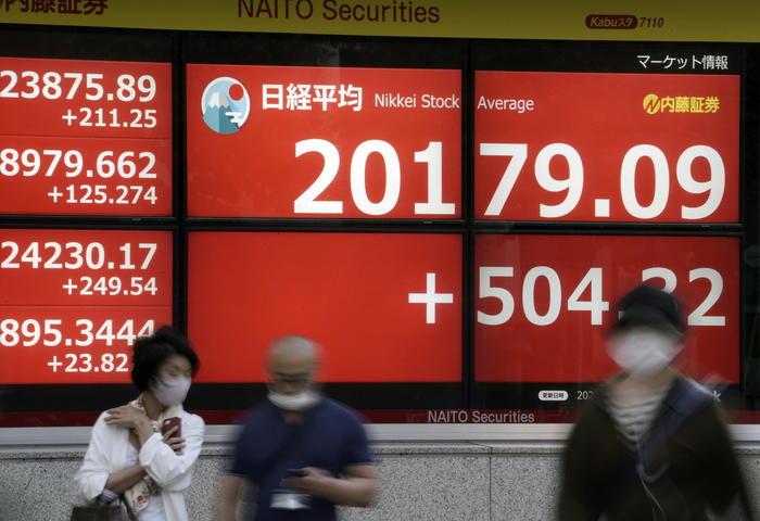 Borsa Asia in rialzo atteso accordo Uk Ue Tokyo 054