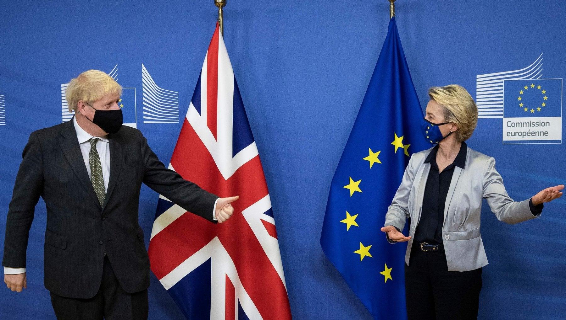 Brexit cena fiume Johnson Von der Leyen ma e ancora un flop Altre 72 ore per negoziare