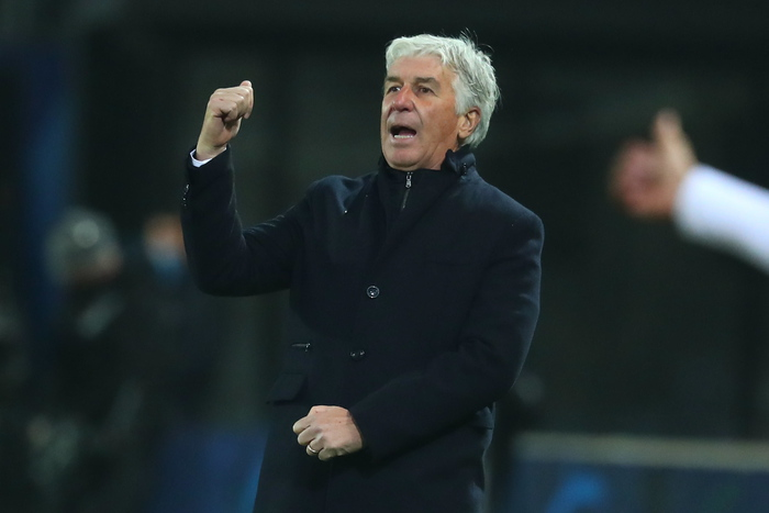 Calcio Atalanta Gasperini non preoccupato ne scontento