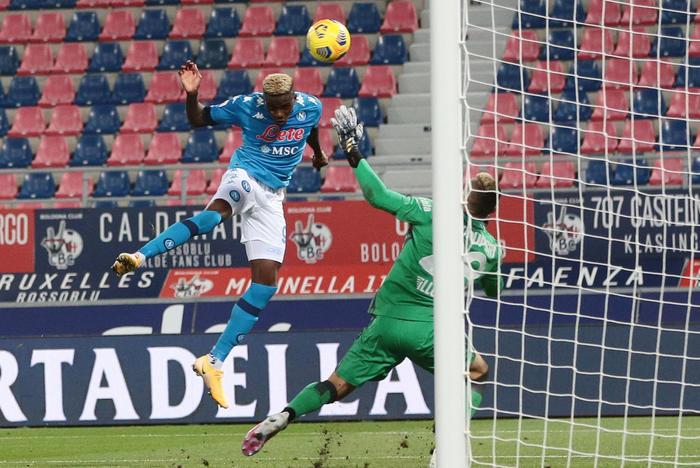 Calcio medico Napoli rientro Osimhen spero prima di Natale
