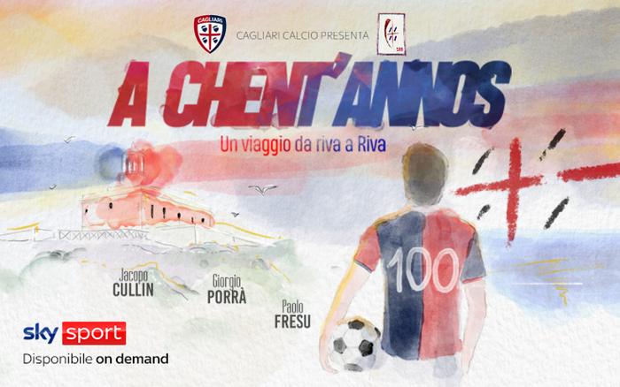 Calcio su Sky il docufilm sui cento anni del Cagliari 1