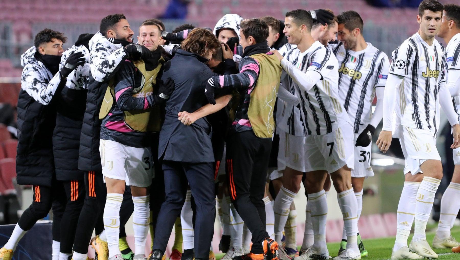 Champions League la Juventus in 90 evita tutte le big dEuropa. Lazio gli ottavi fanno paura