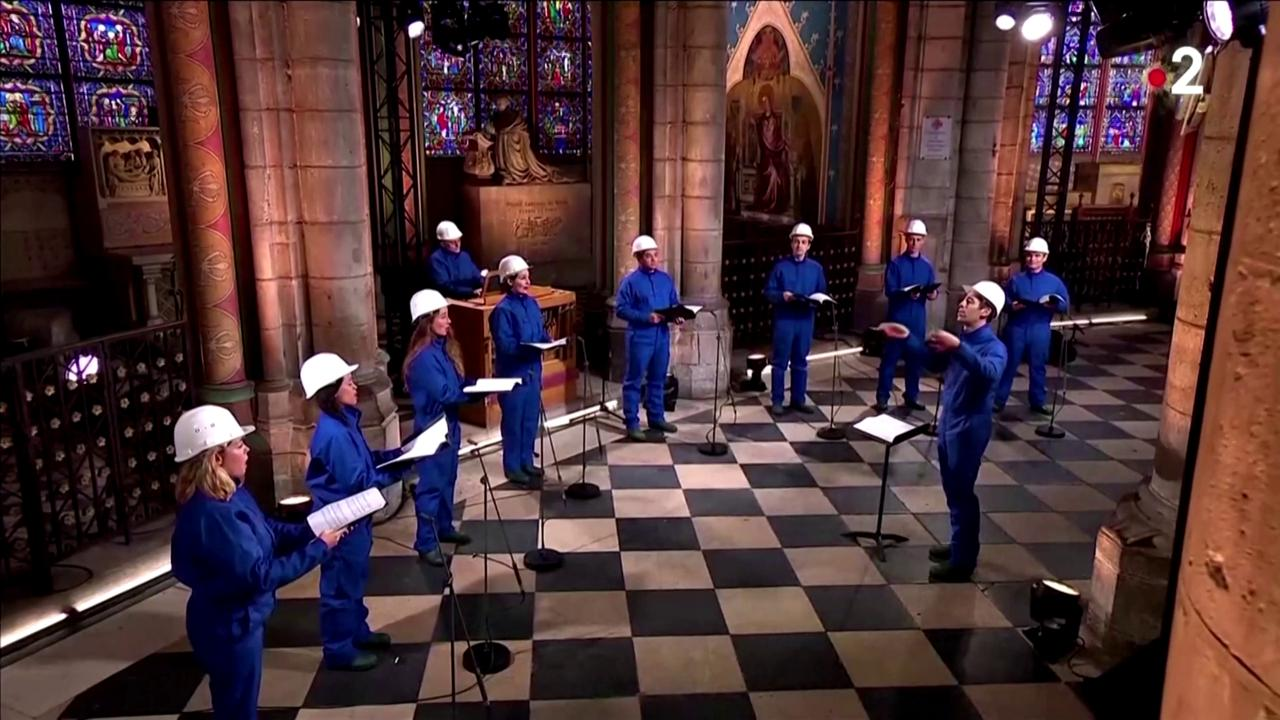 Concerto di Natale a Notre Dame e il primo dopo lincendio del 2019