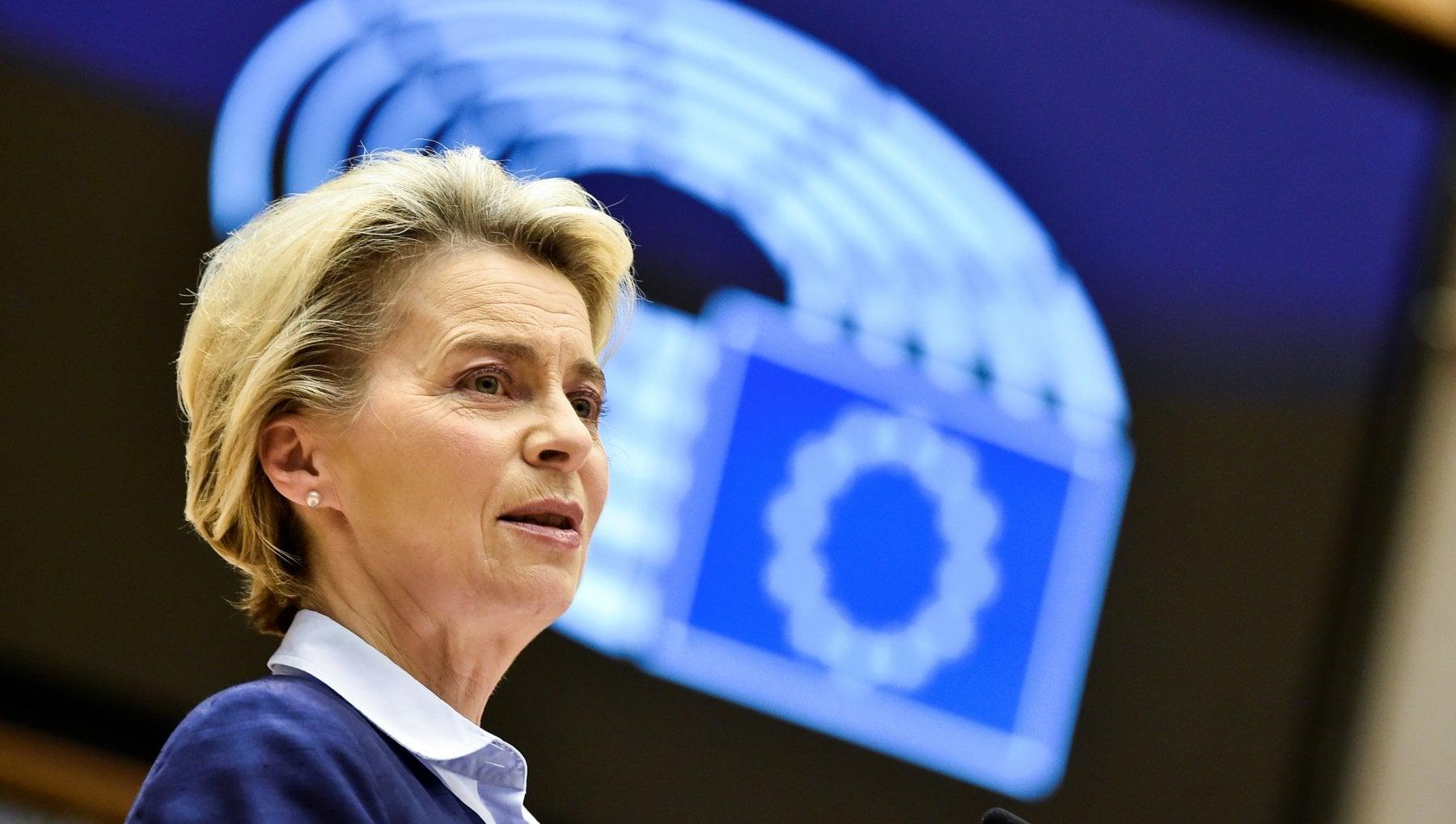 Covid von der Leyen annuncia Via alle vaccinazioni nellUe nei giorni 27 28 e 29 dicembre