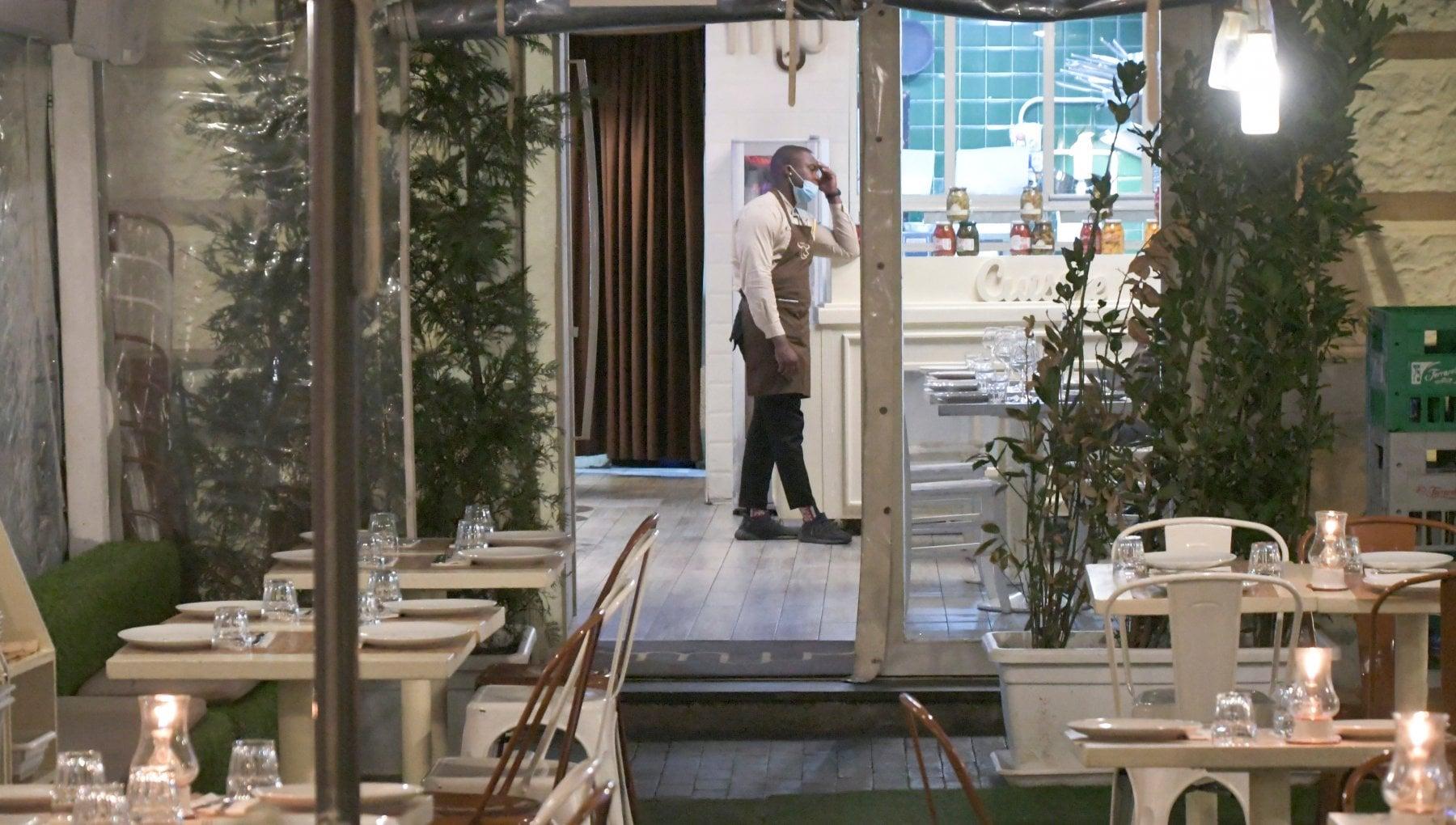Decreto Natale per bar e ristoranti costretti a chiudere nuovi ristori per 645 milioni