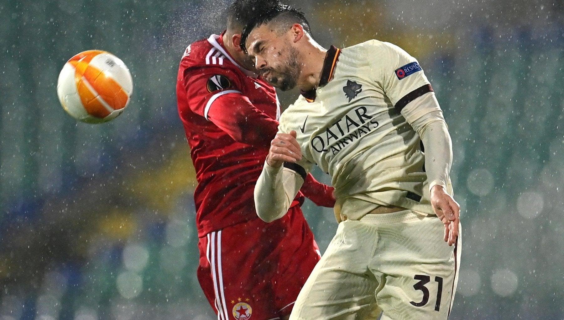 Europa League Cska Sofia Roma 3 1 non basta Milanese giallorossi ko