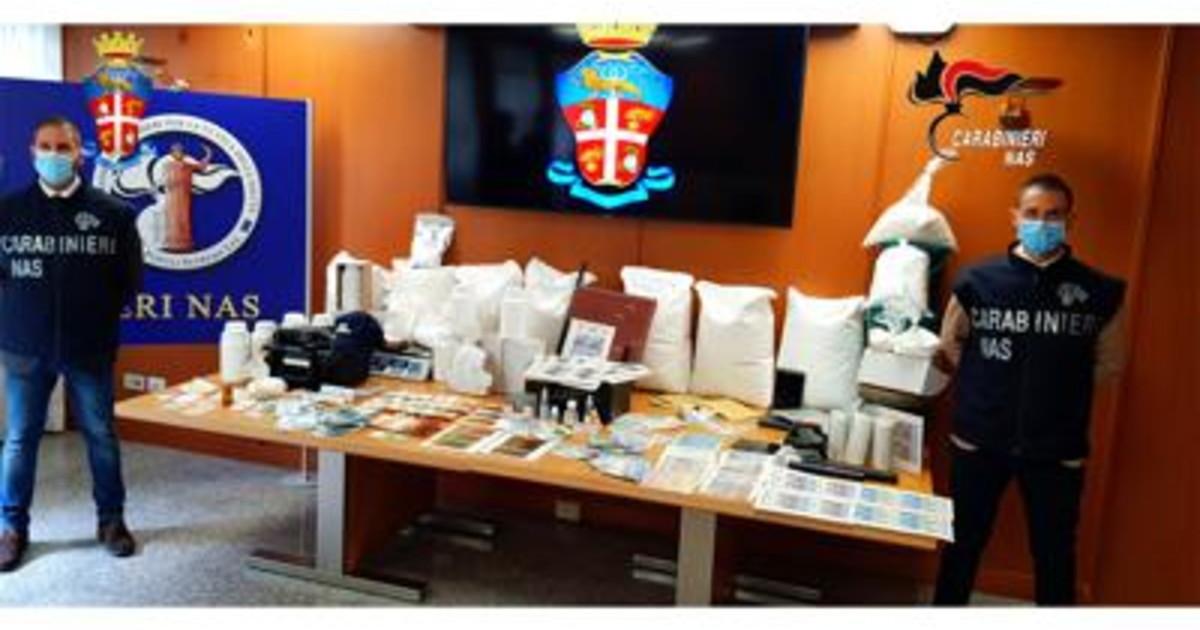 Farmaci 132 siti oscurati 13 arresti e sequestri per oltre 6 mln euro