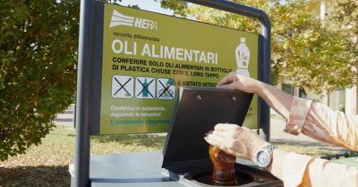 Hera ed Eni insieme biocarburante dagli oli vegetali esausti