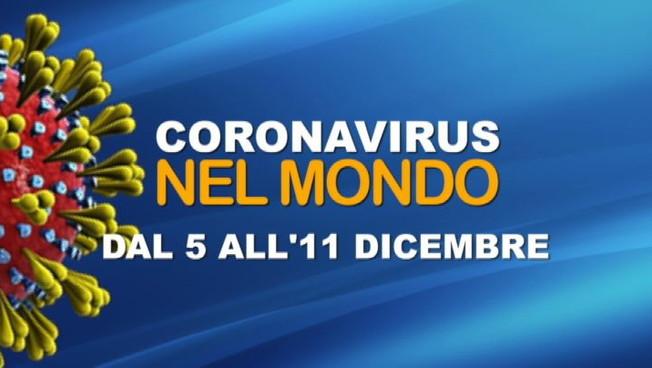 IL CORONAVIRUS NEL MONDO LA SETTIMANA DAL 5 ALL11 DICEMBRE