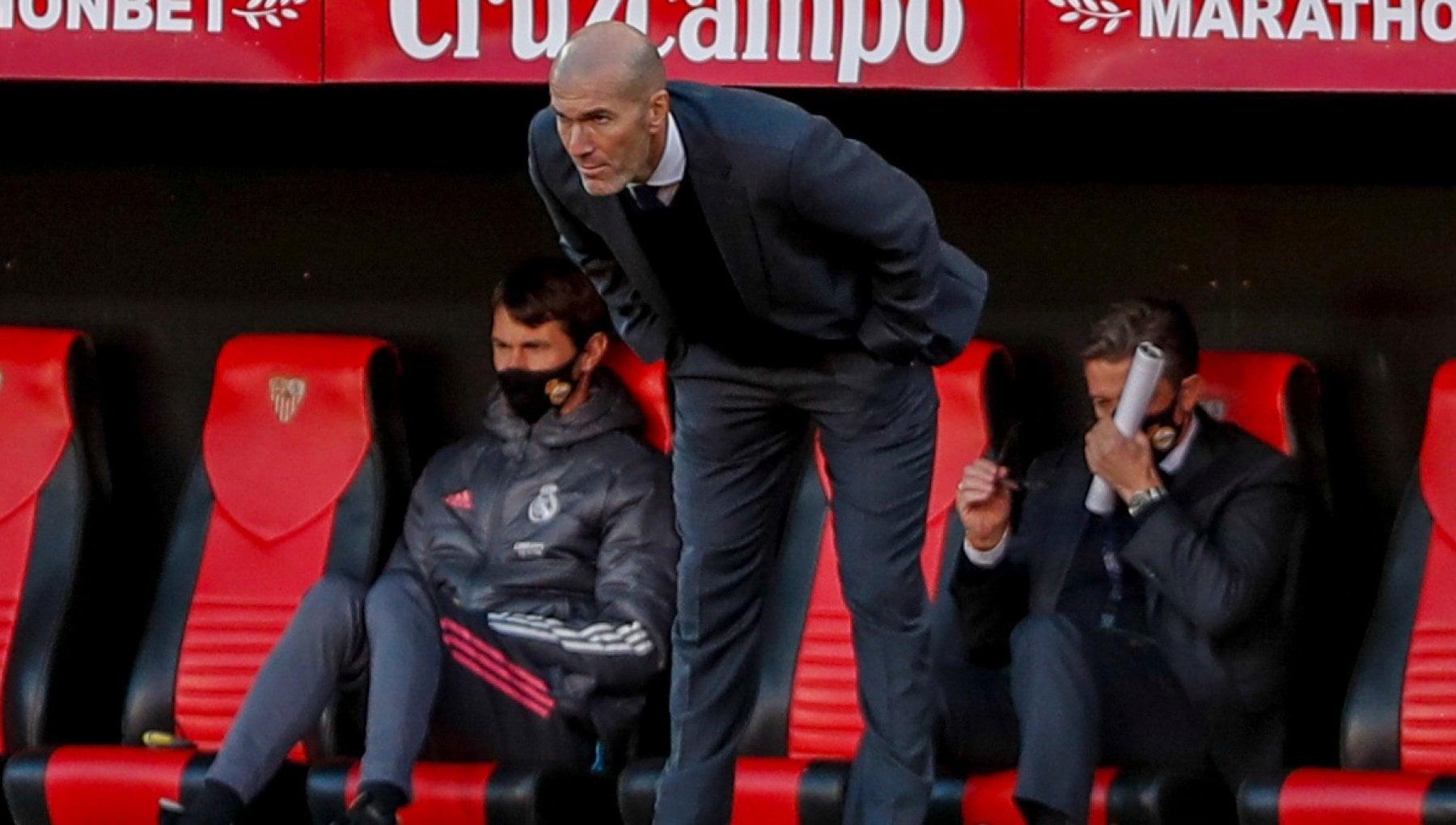 Il Real Madrid a rischio eliminazione scricchiola il patto Zidane Perez nella notte del possibile biscotto