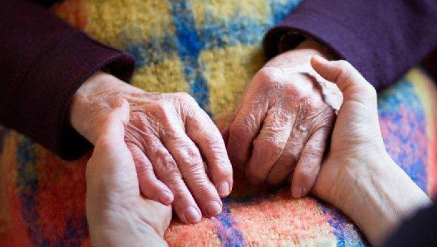 Il primo Natale senza i nonni