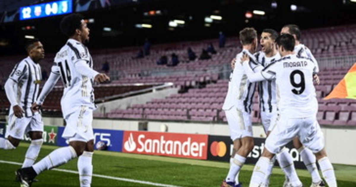 Impresa Juve 3 0 al Barca al Camp Nou e 1° posto girone