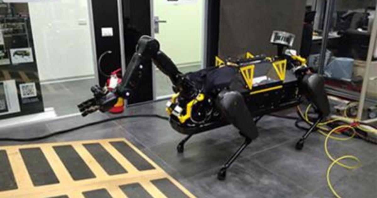 Inail Iit on line video che mostra evoluzione progetto robot teleoperativo