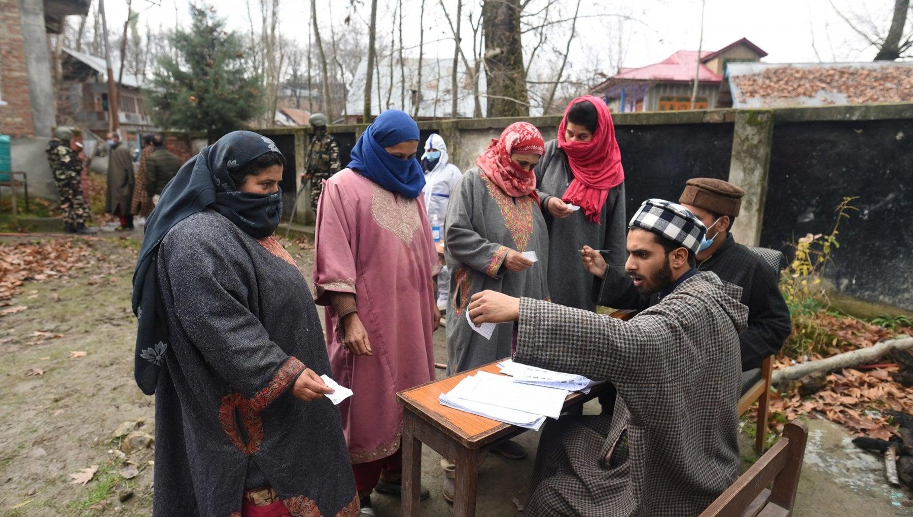 India la sfida del Kashmir un voto contro Modi