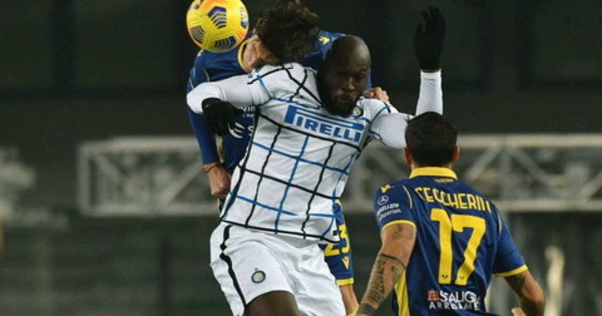 Inter chiude lanno con una vittoria Verona battuto 2 1