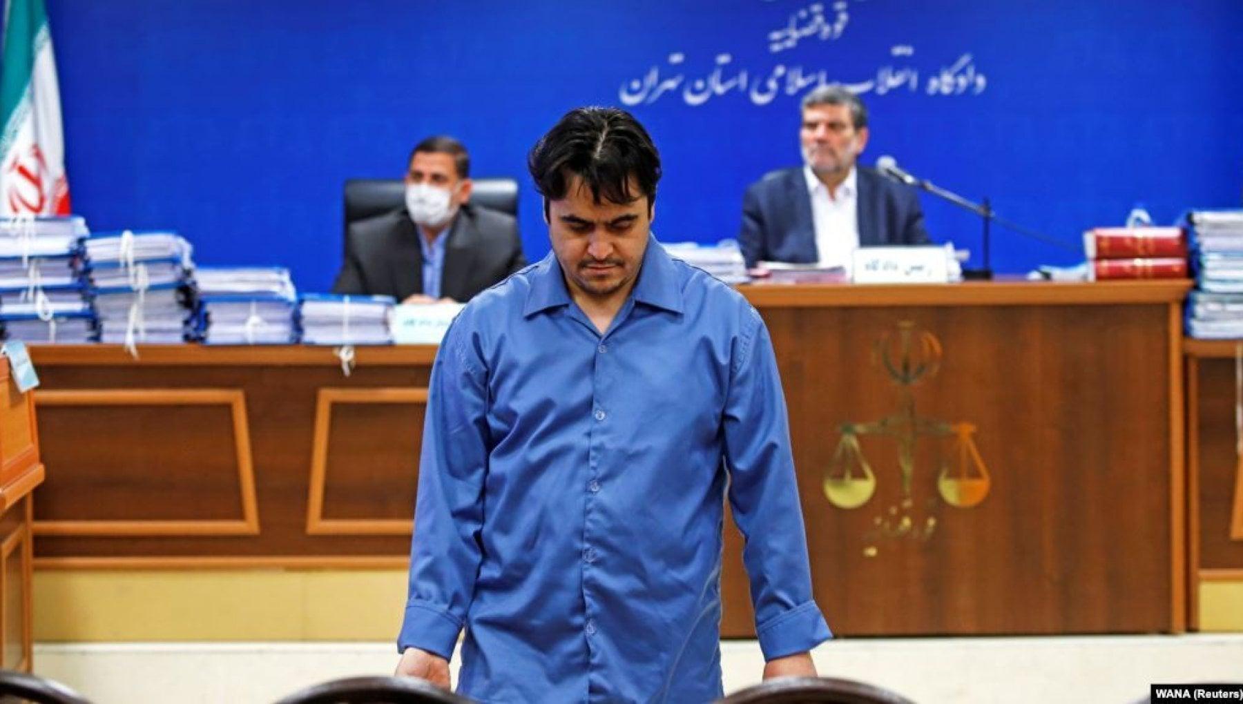 Iran giustiziato Zam il reporter che aveva ispirato le proteste del 2017