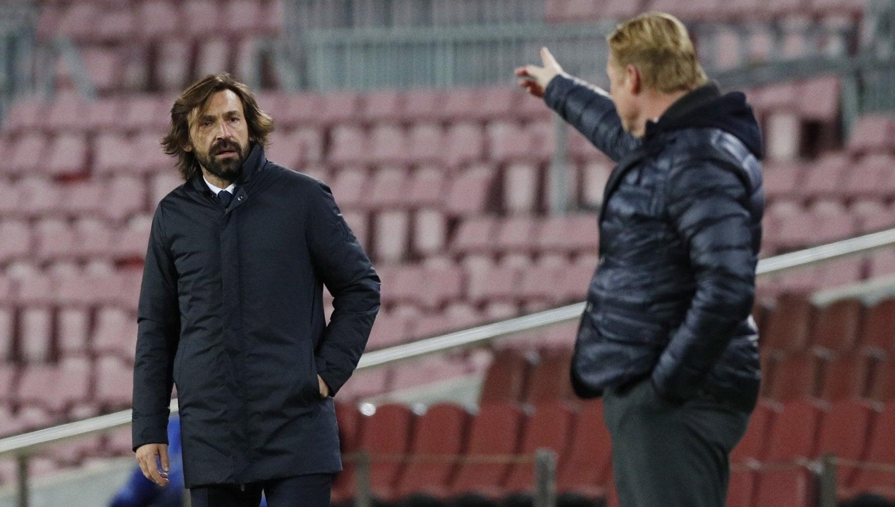 Juventus a Barcellona la partita della svolta ora e la squadra di Pirlo