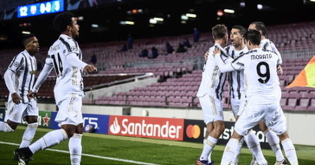 Juventus una serata da Champions Barca e Messi annichiliti doppietta di Ronaldo e primo posto