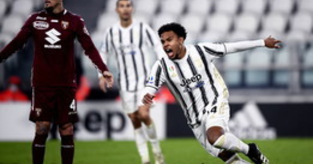 La Juventus si presenta solo alla fine e ribalta il derby il Torino di Giampaolo e davvero poca cosa