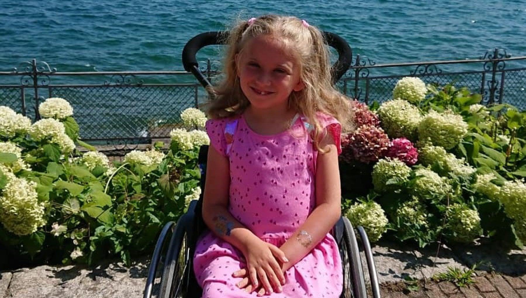 La rinascita di mia figlia Ilaria affetta da Sma adesso riesce a ballare con la sua carrozzina