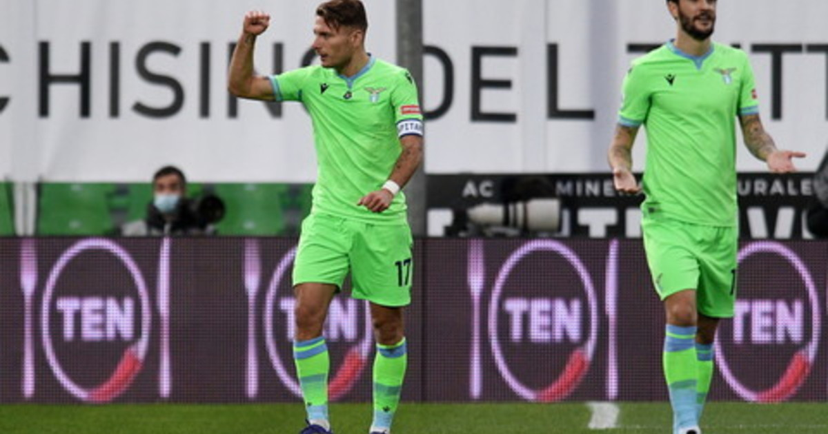 Lazio iniziata la risalita in Serie A lo Spezia ci prova ma Immobile e Milinkovic lo tengono a bada