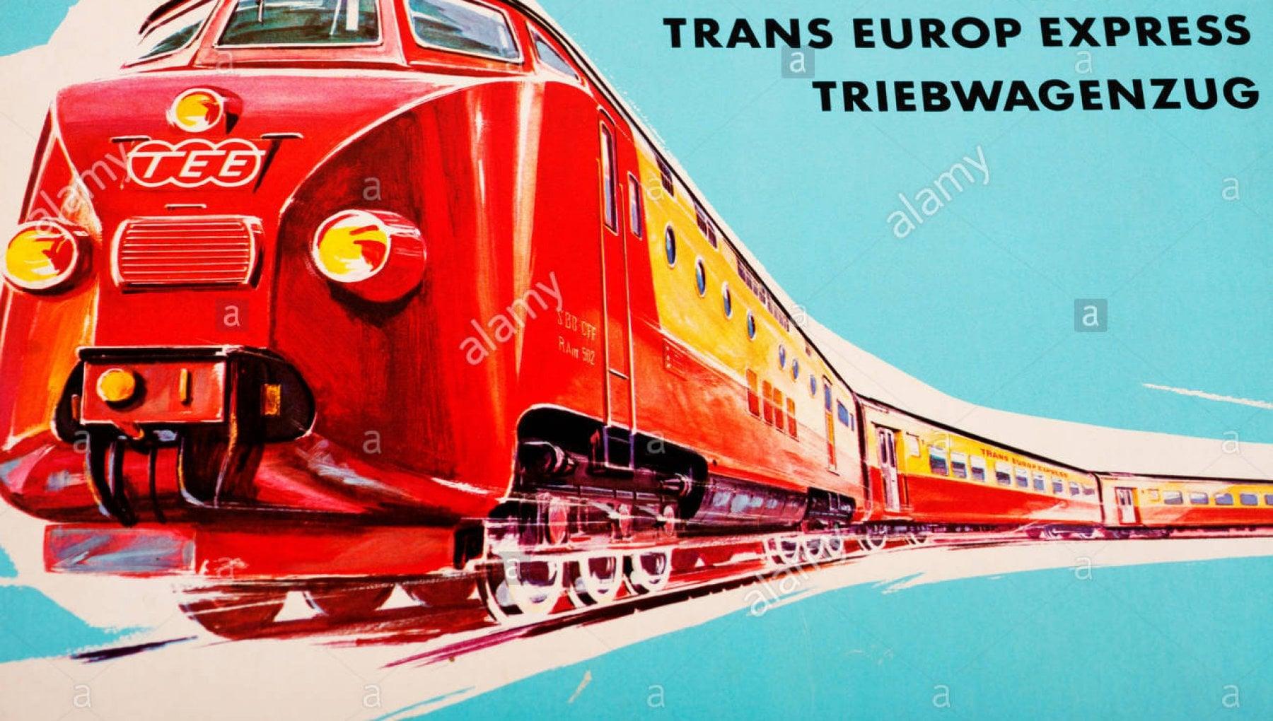 Leffetto Greta rilancia i mitici treni Tee. Ripartono le tratte rapide paneuropee