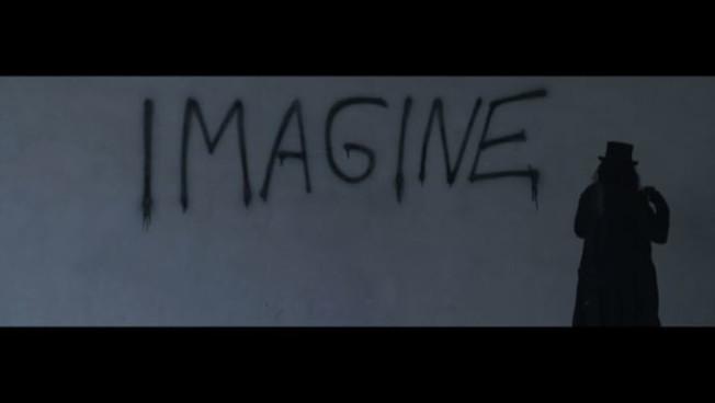 Lomaggio a John Lennon di Gipsy Fiorucci con Imagine