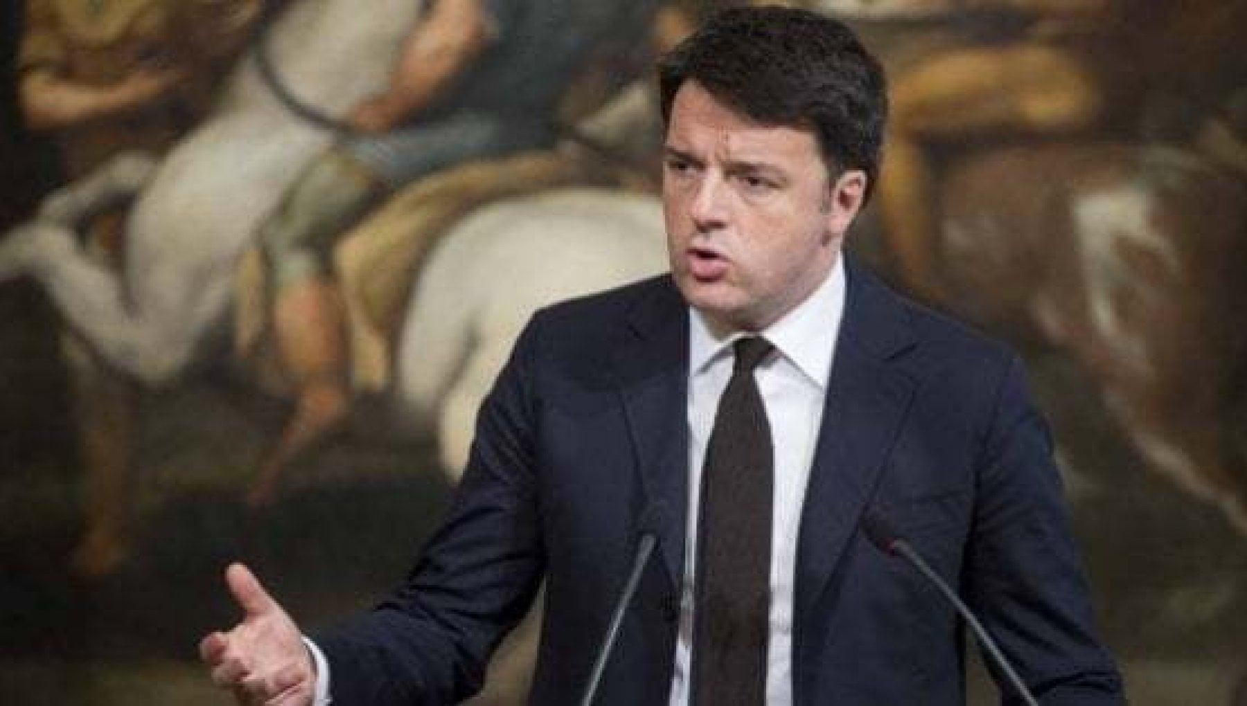 Manovra lavvertimento di Renzi Dai Servizi al bilancio bisogna rispettare le regole e le istituzioni