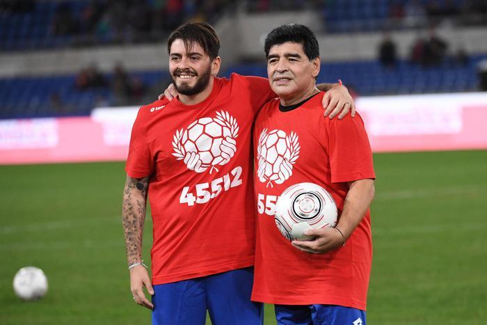 Maradona Diego jr voglio la verita papa stava bene