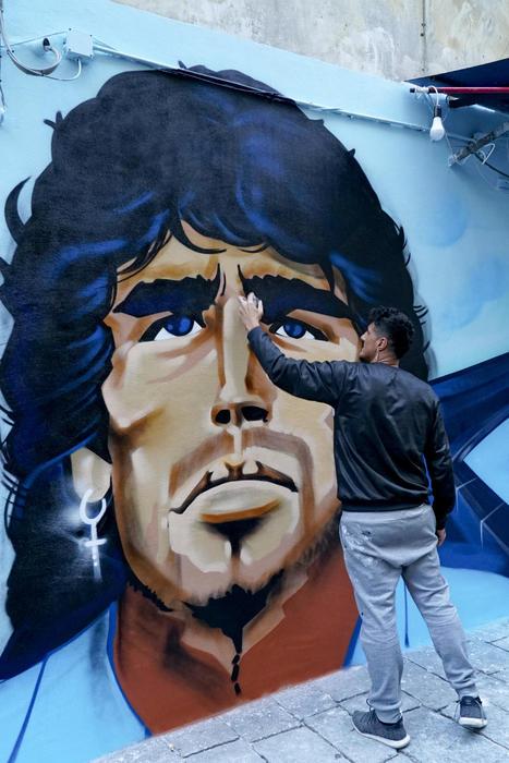 Maradona proposta per metterlo su banconota 1000 pesos