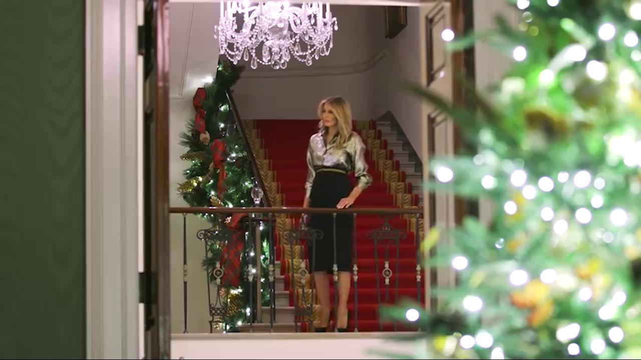 Melania Trump ultimo Natale alla Casa Bianca ecco le decorazioni scelte dalla first lady