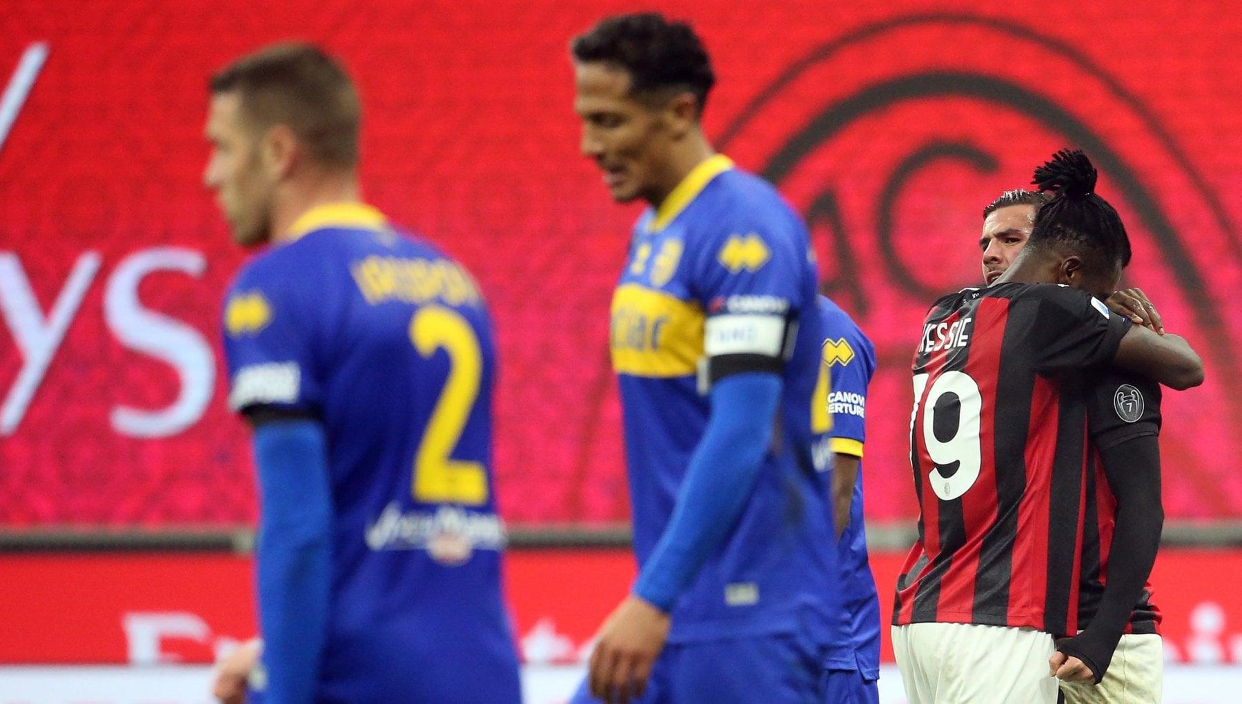 Milan Parma 2 2 Theo Hernandez al 91 salva i rossoneri