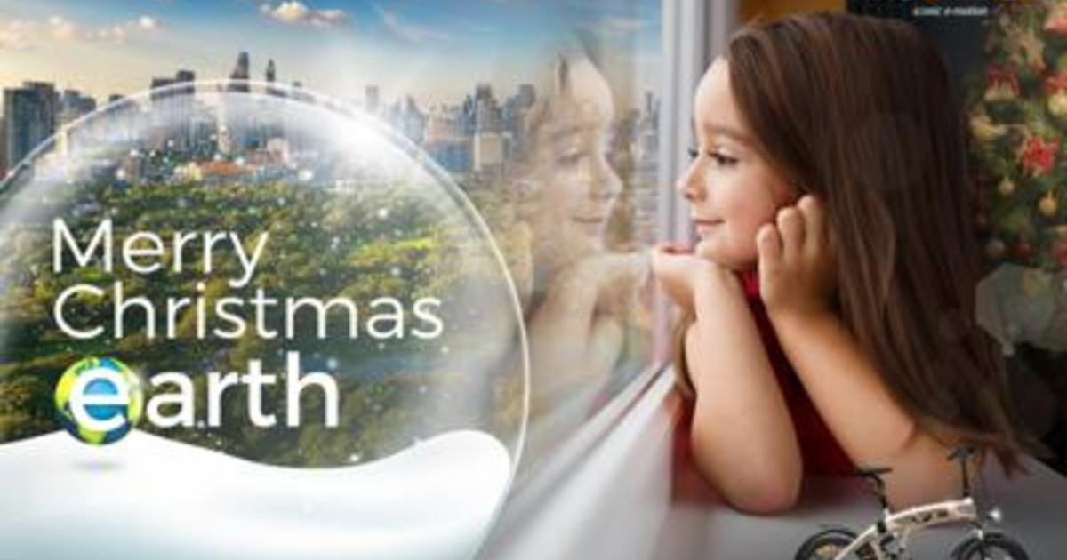 Mobilita V ita Group lancia la campagna Merry Christmas Earth