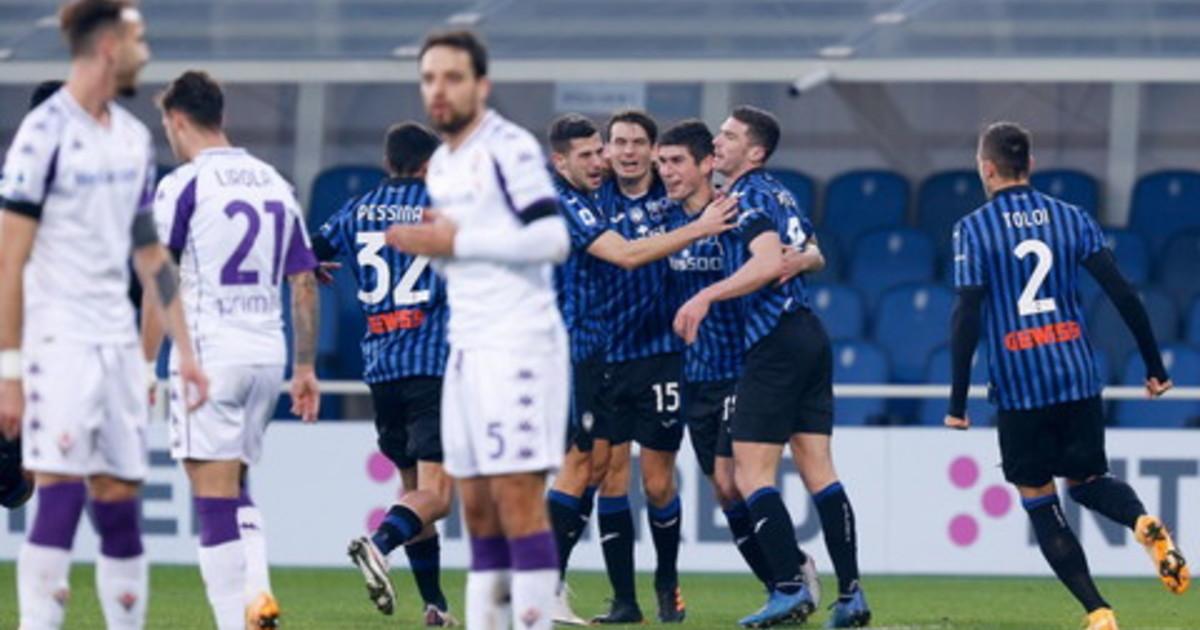 Napoli vince in rimonta manita della Roma tris dellAtalanta