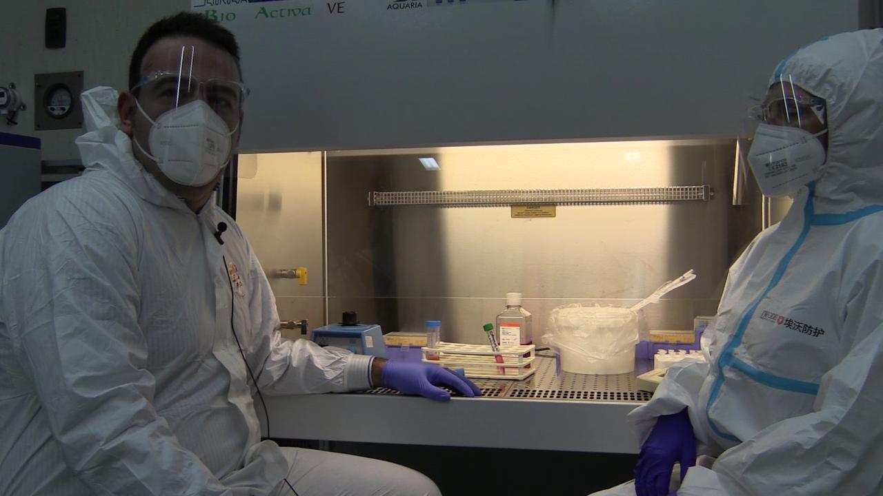 Nel laboratorio sperimentale Cosi per primi abbiamo isolato la variante inglese del Covid