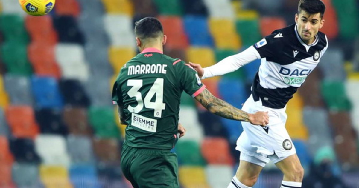 Pari a reti bianche fra Udinese e Crotone